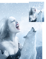 Teen WolfGirl Premade Book Cover by Viergacht