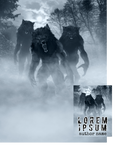 A 3-Pack of Werewolves Premade Book Cover by Viergacht