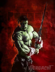 Josh the Half-Orc by Viergacht