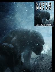 Werewolf Winter Premade Book Cover by Viergacht
