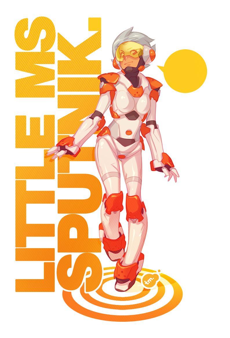 Little Miss Sputnik by StudioQube