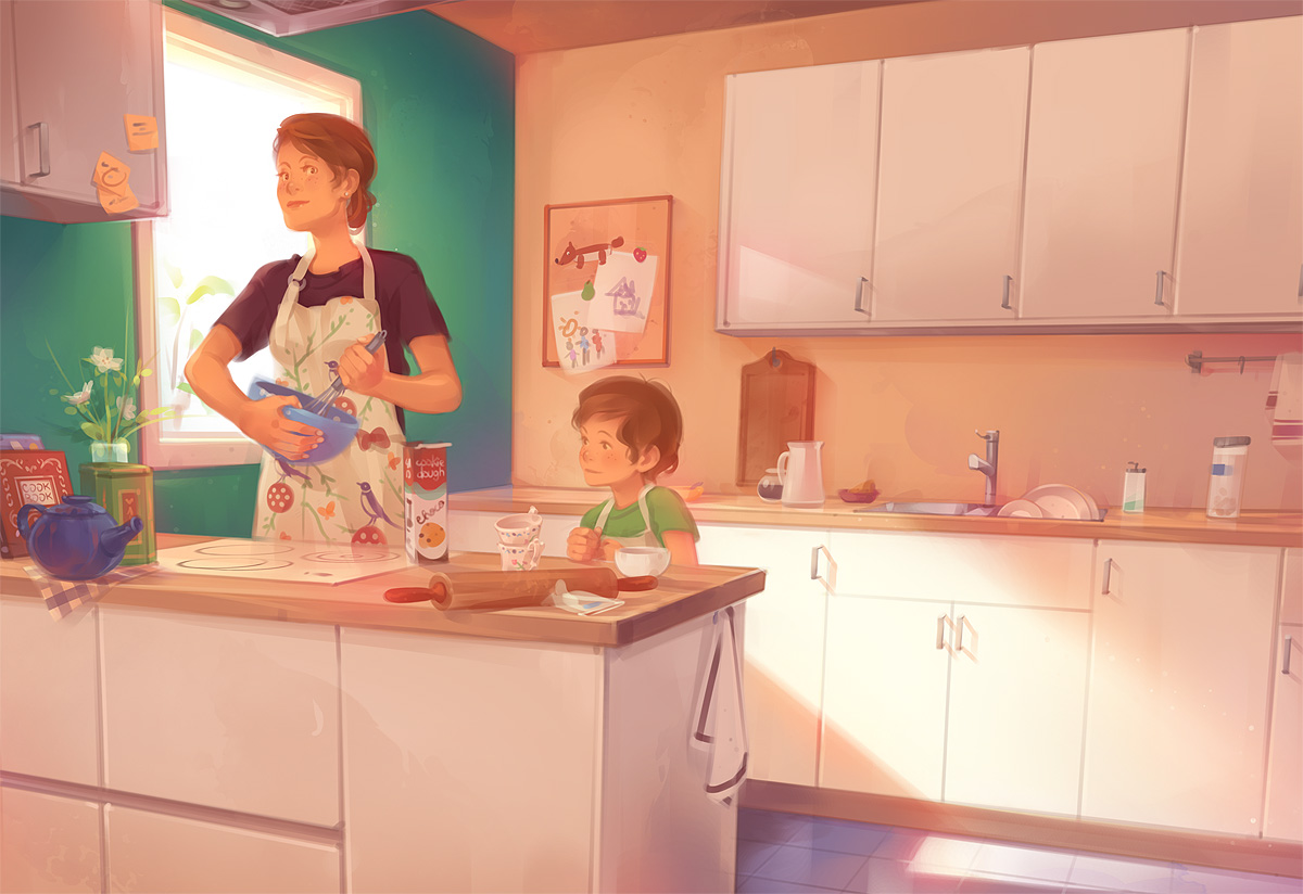 Kitchen by StudioQube