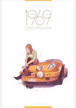 1969 - Berlinette by StudioQube