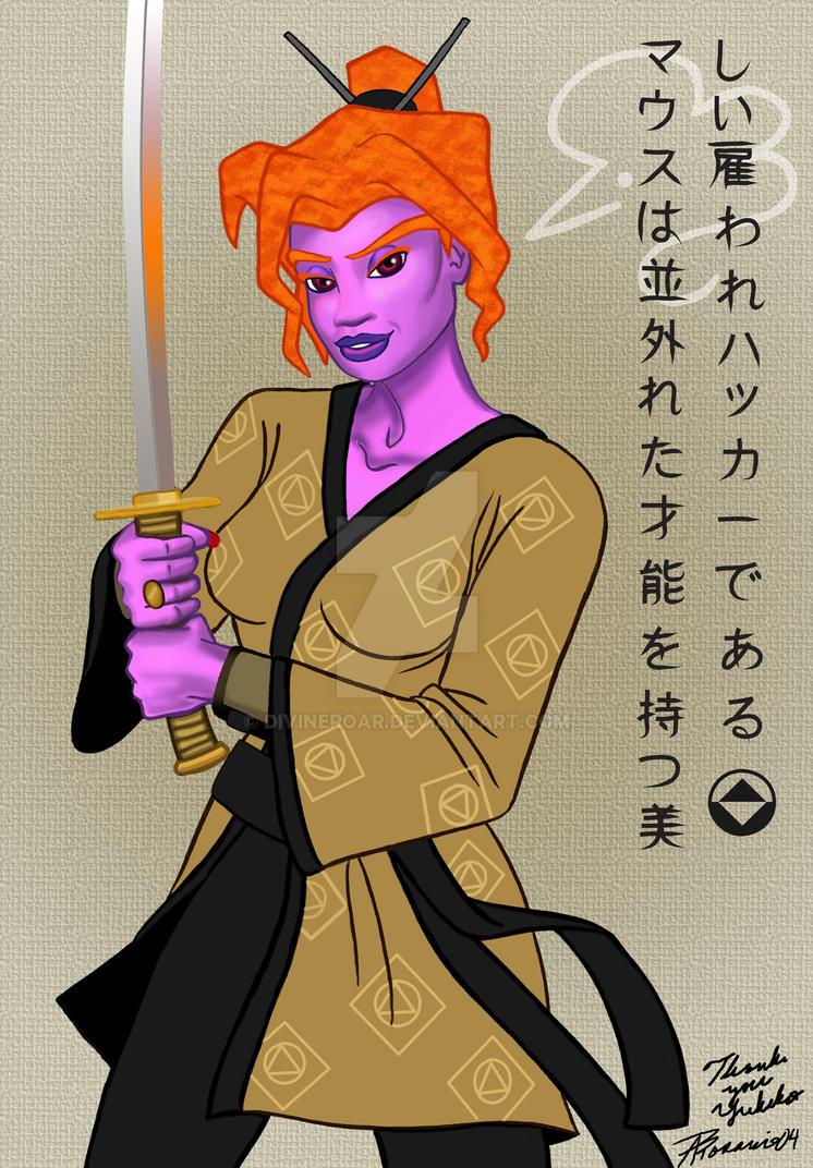 Samurai Mouse by DivineROAR