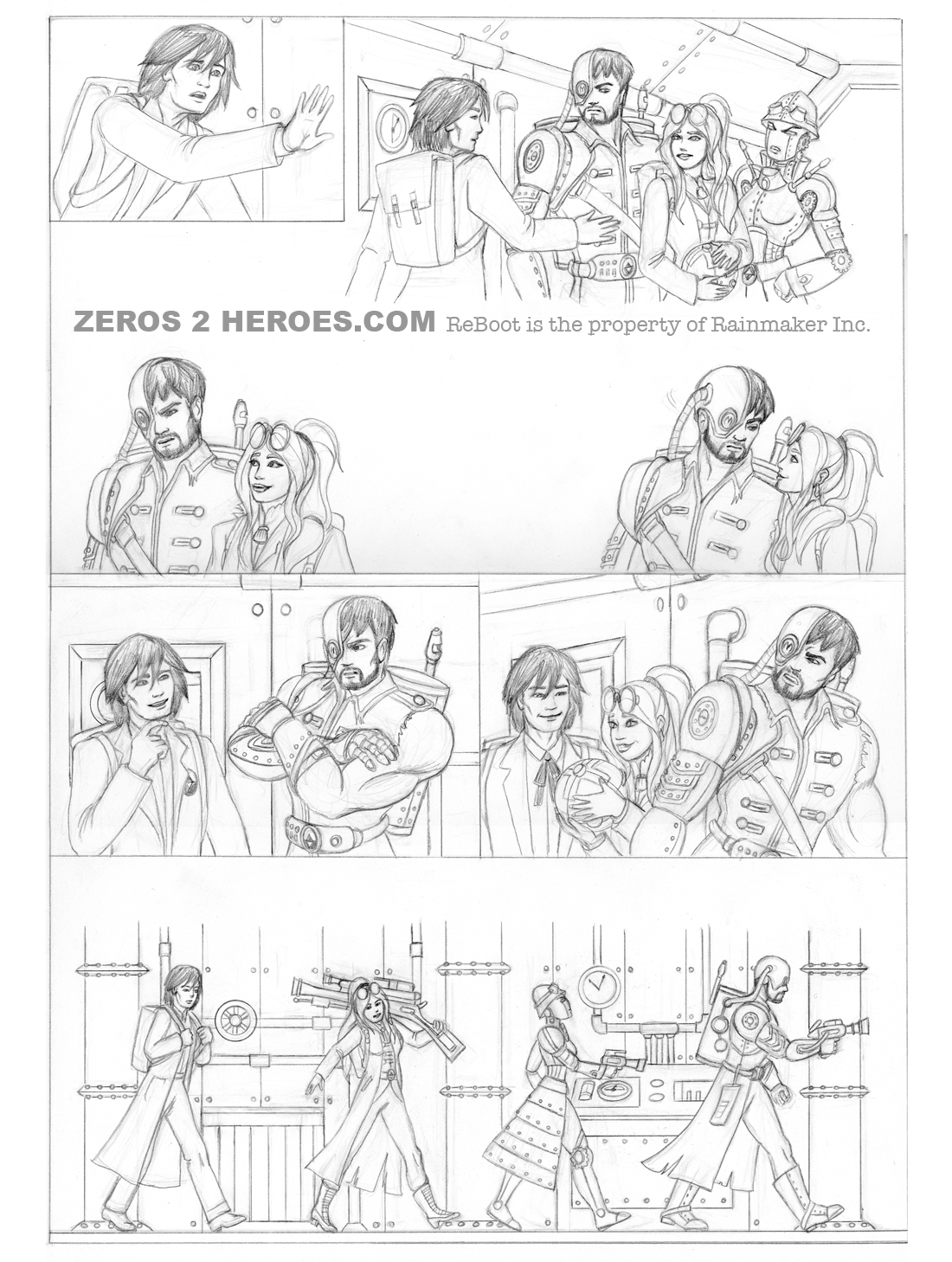 ReBoot - Comic Story Page 4 by DivineROAR