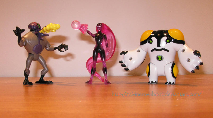Ben 10 AF Figure Collection 2 by DivineROAR