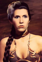 Leia Skywalker by afrodite