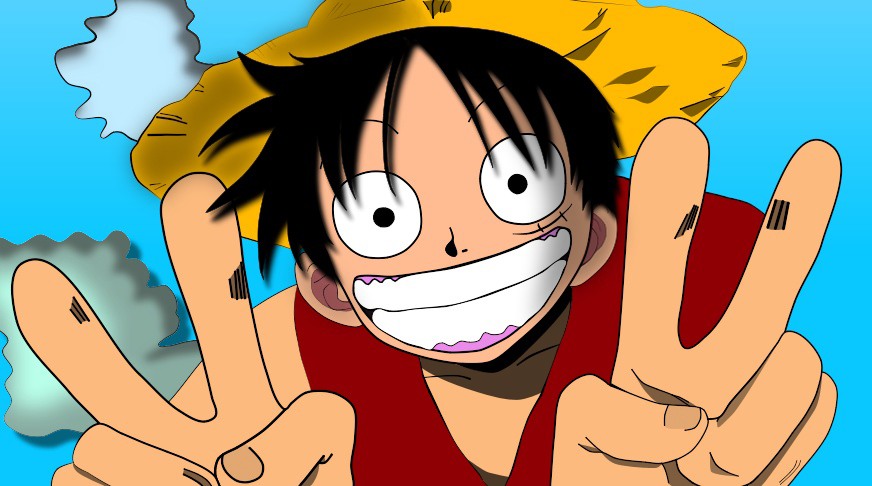 [One Piece] Monkey D. Luffy by cntrk491 on DeviantArt - photo #31