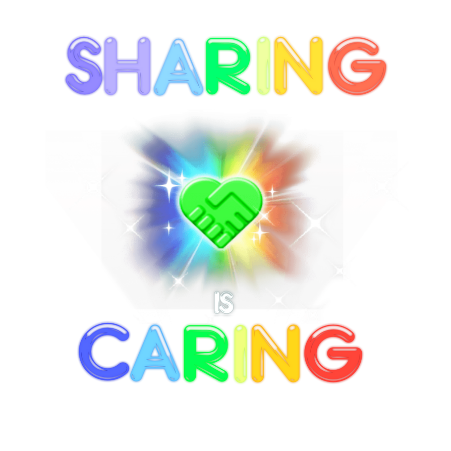 Sharing is Caring by DelightfulDingo