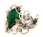 Wire Wrap Braided Bracelet
