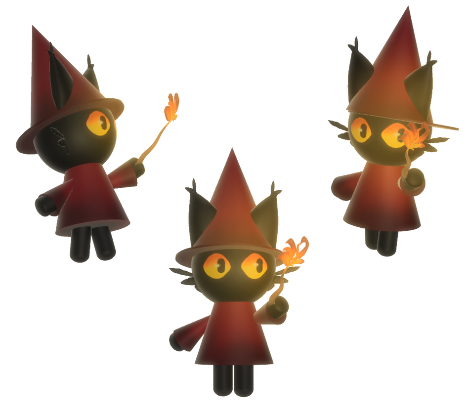 Fire Mage Kitty Cay