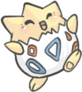 Togepi by pirate-blue