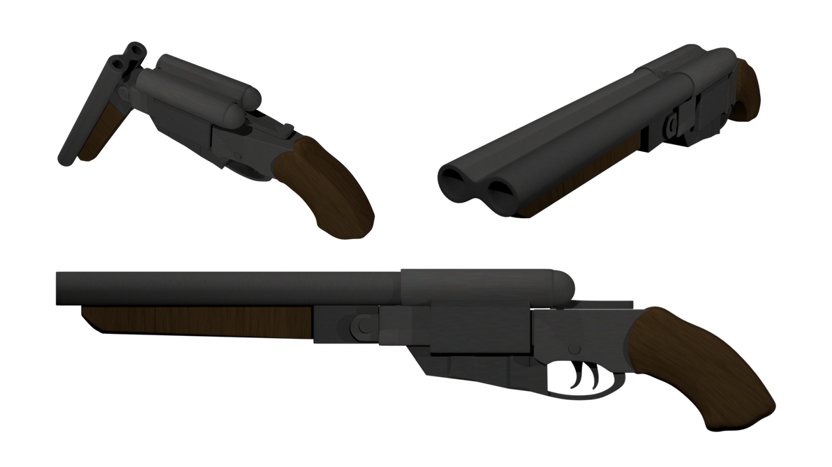 Dantes Shotgun DMC3 by MrQuartz