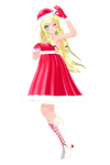 [Pokemon] TDA Christmas Lillie - MMD