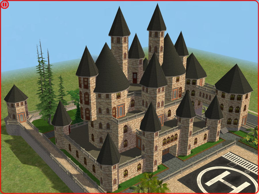 sims 2 japanese fortress - photo #44