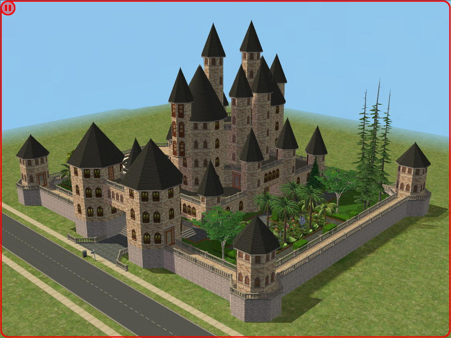 sims 2 japanese fortress - photo #40