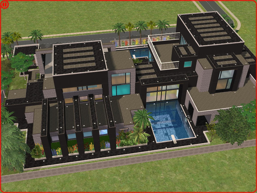 Sims 2 modern dream house by RamboRocky on DeviantArt