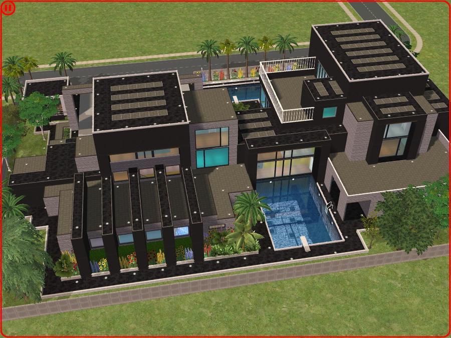 Sims 2 Modern Dream House By Ramborocky On Deviantart