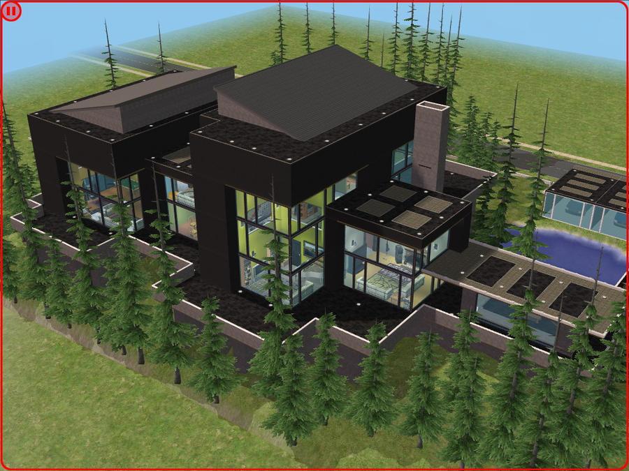 Sims 2 Modern Villa By RamboRocky On DeviantArt