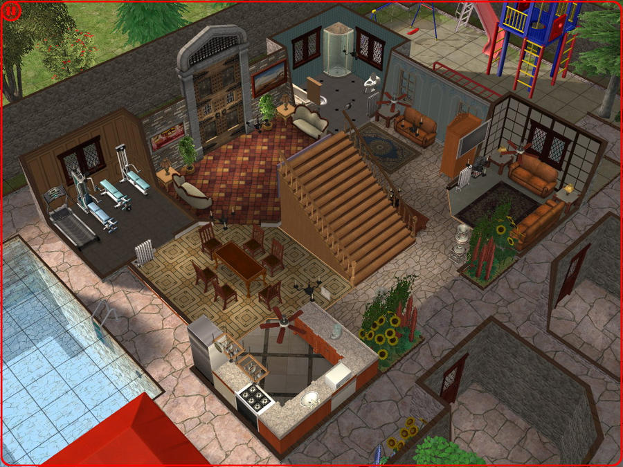 sims 2 japanese fortress - photo #14