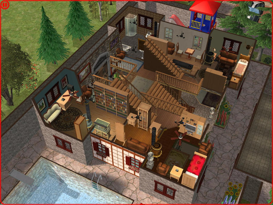 sims 2 japanese fortress - photo #9