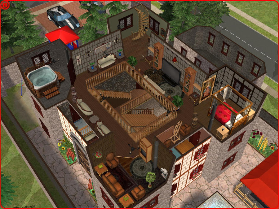 sims 2 japanese fortress - photo #11