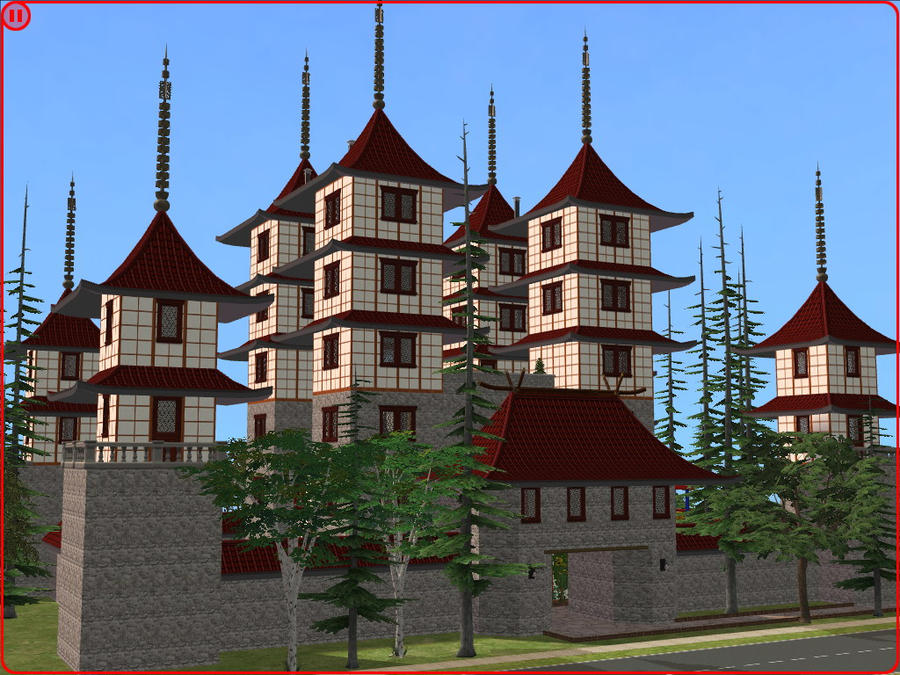 sims 2 japanese fortress - photo #4