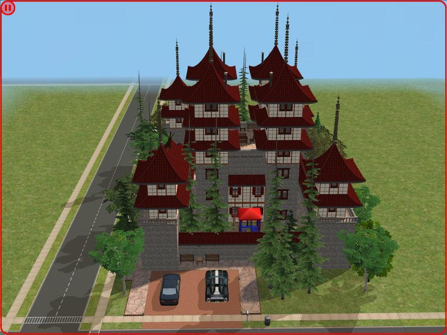 sims 2 japanese fortress -#main