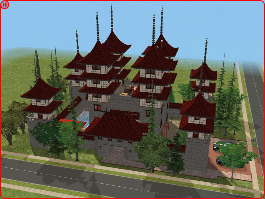sims 2 japanese fortress - photo #3