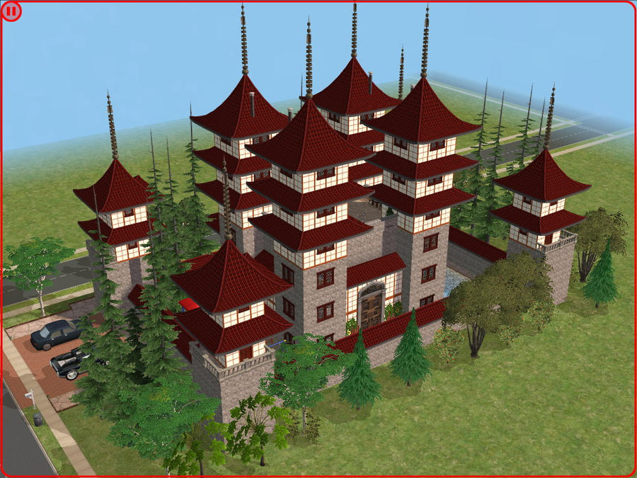 sims 2 japanese fortress - photo #8
