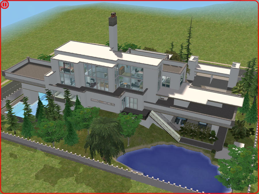 Awesome sims 2 houses for Awesome sims