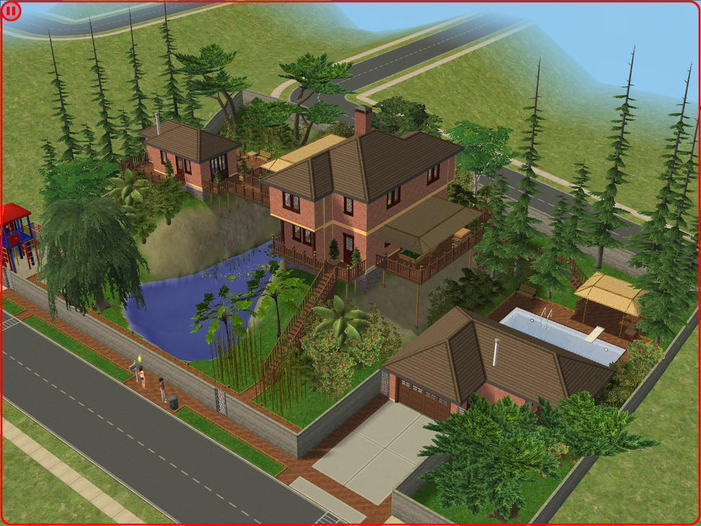 Pisos the sims 2 for Minimalist house sims 2