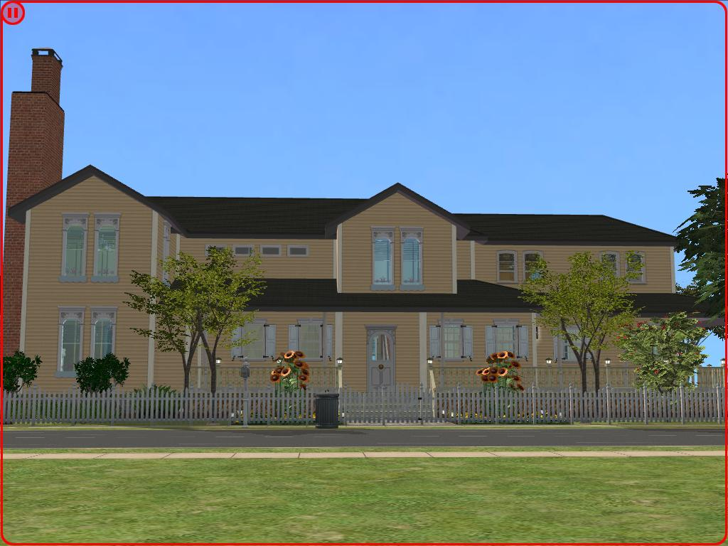 Sims 2 large family house by ramborocky on deviantart for Large family home