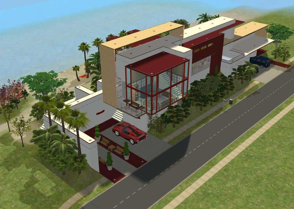 The Sims 2 Modern House Design House And Home Design