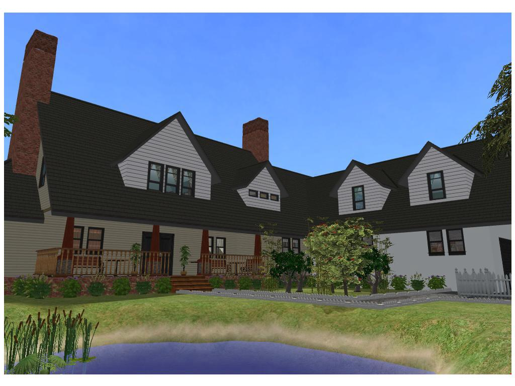 Sims 2 large family house by ramborocky on deviantart for A family house