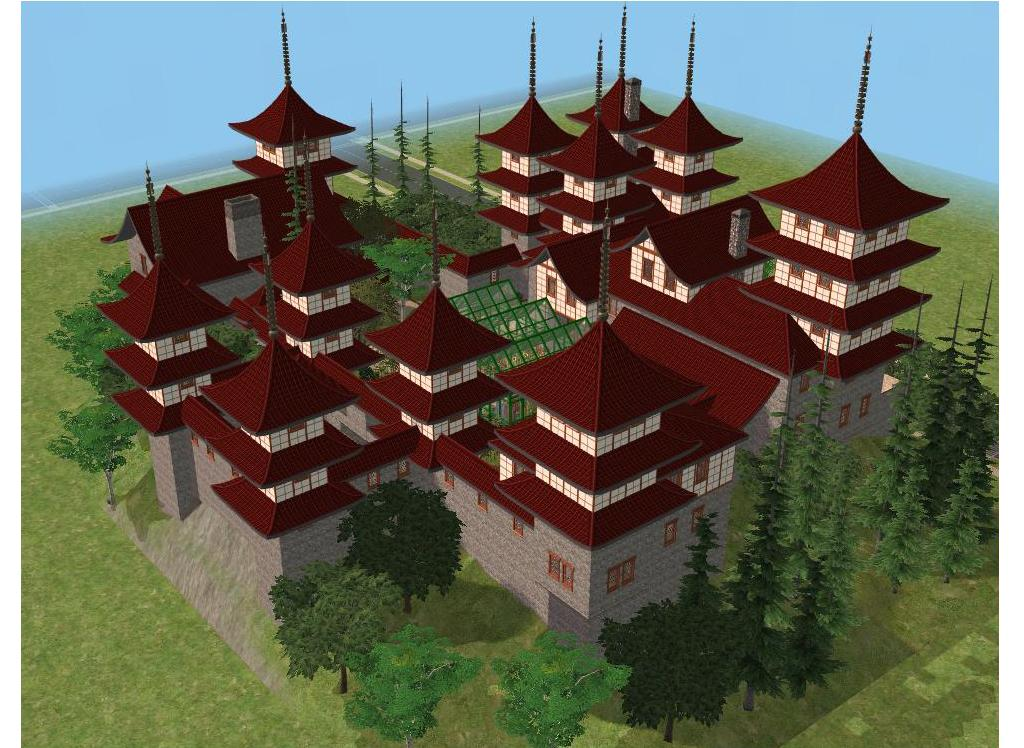 sims 2 japanese fortress - photo #13