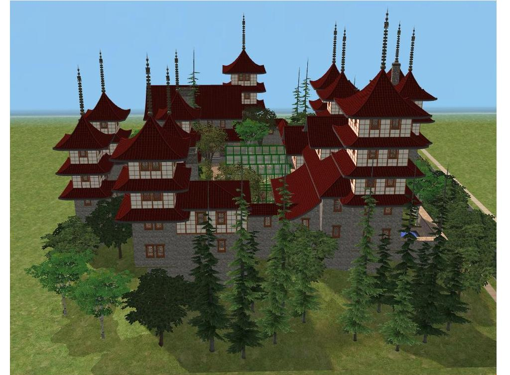 sims 2 japanese fortress - photo #10