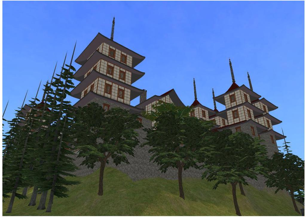 sims 2 japanese fortress - photo #17