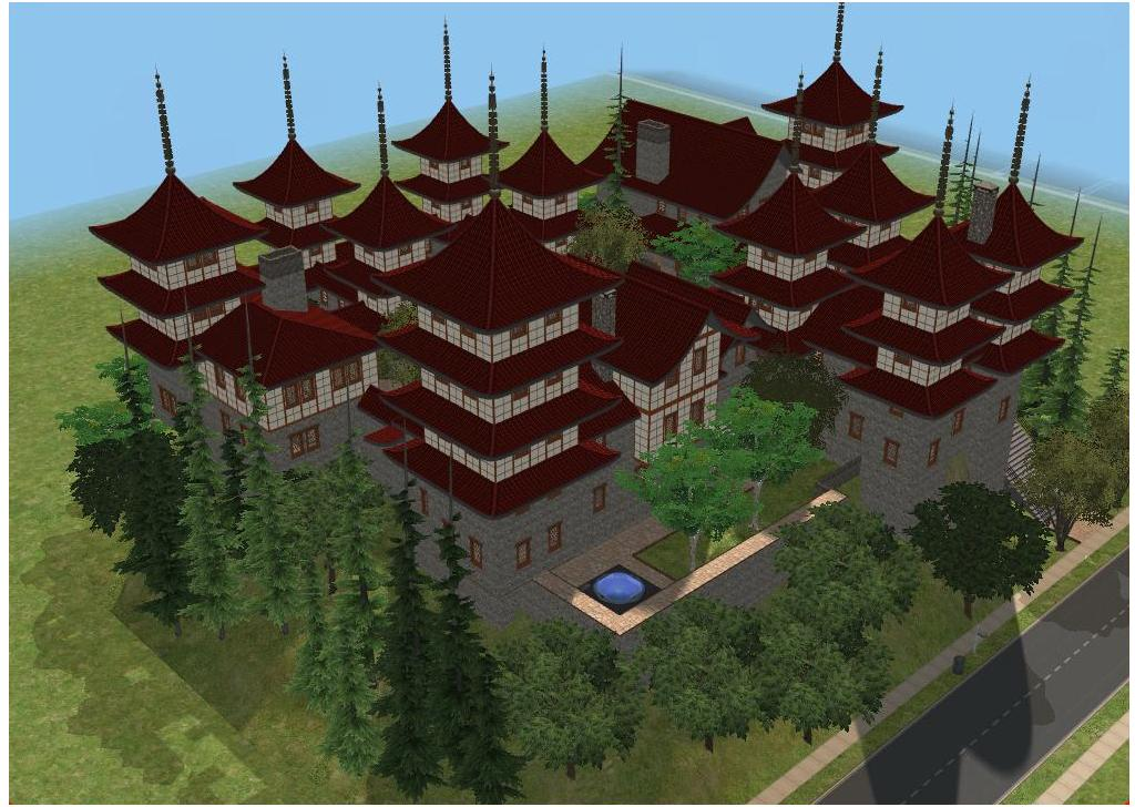 sims 2 japanese fortress - photo #6