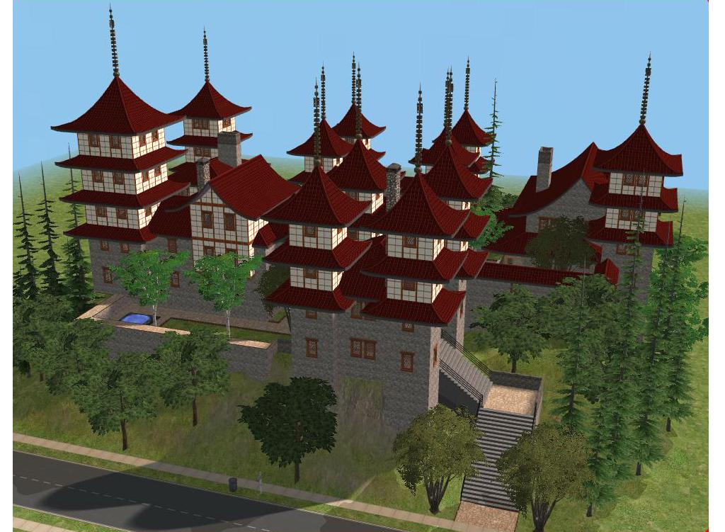 sims 2 japanese fortress - photo #2