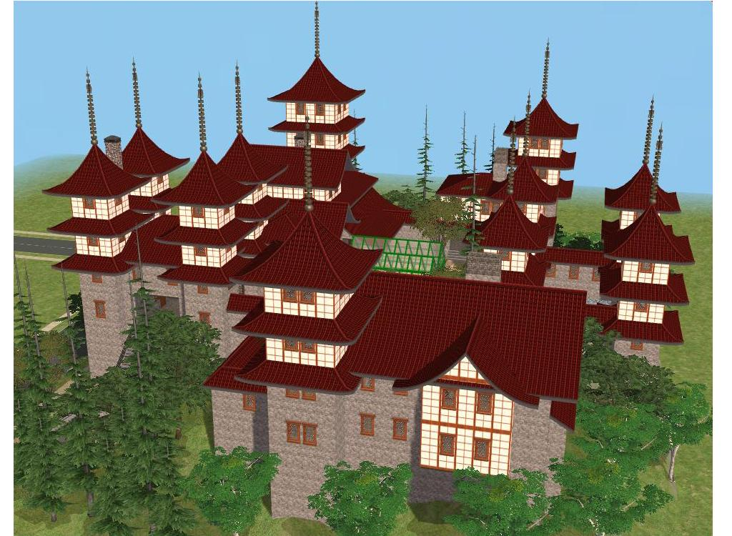 sims 2 japanese fortress - photo #12