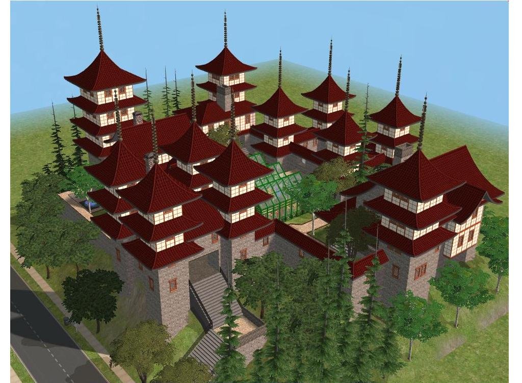 sims 2 japanese fortress - photo #15