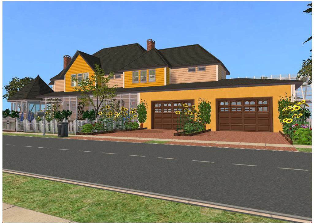 Sims 2 family house by ramborocky on deviantart for House for two families