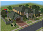 Sims 2 Simple family house