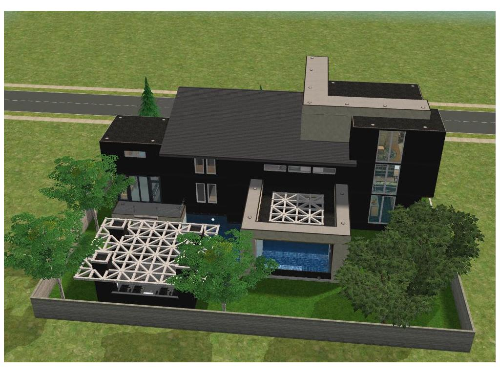 Small modern house by ramborocky on deviantart for Small minecraft house blueprints