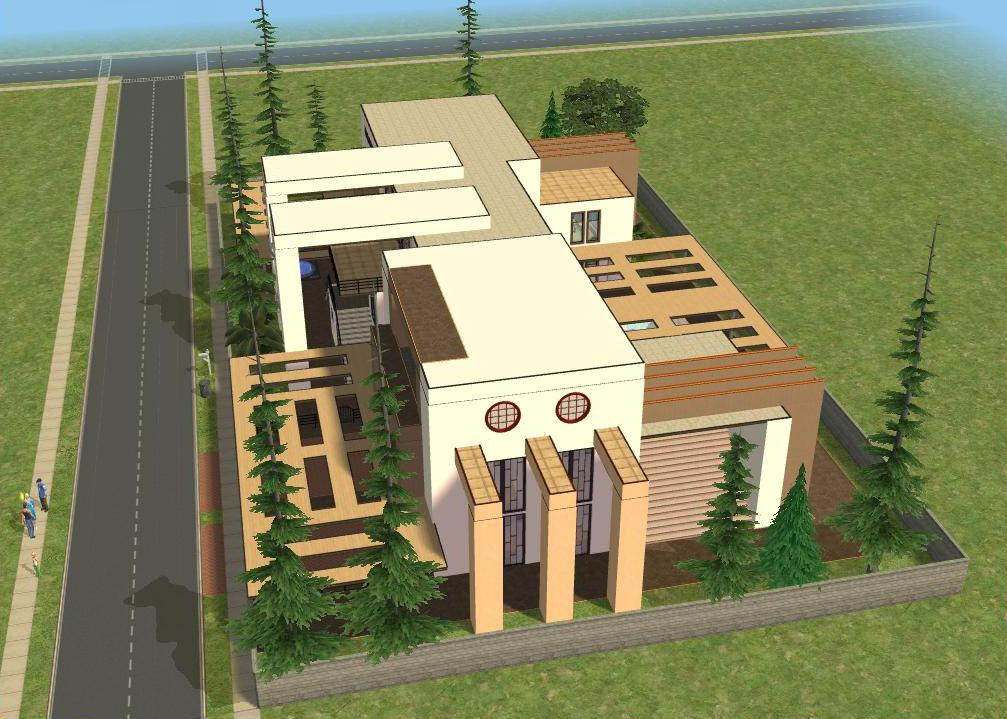 Sims 2 modern houses impressive tiny houses small for Sims 2 home designs
