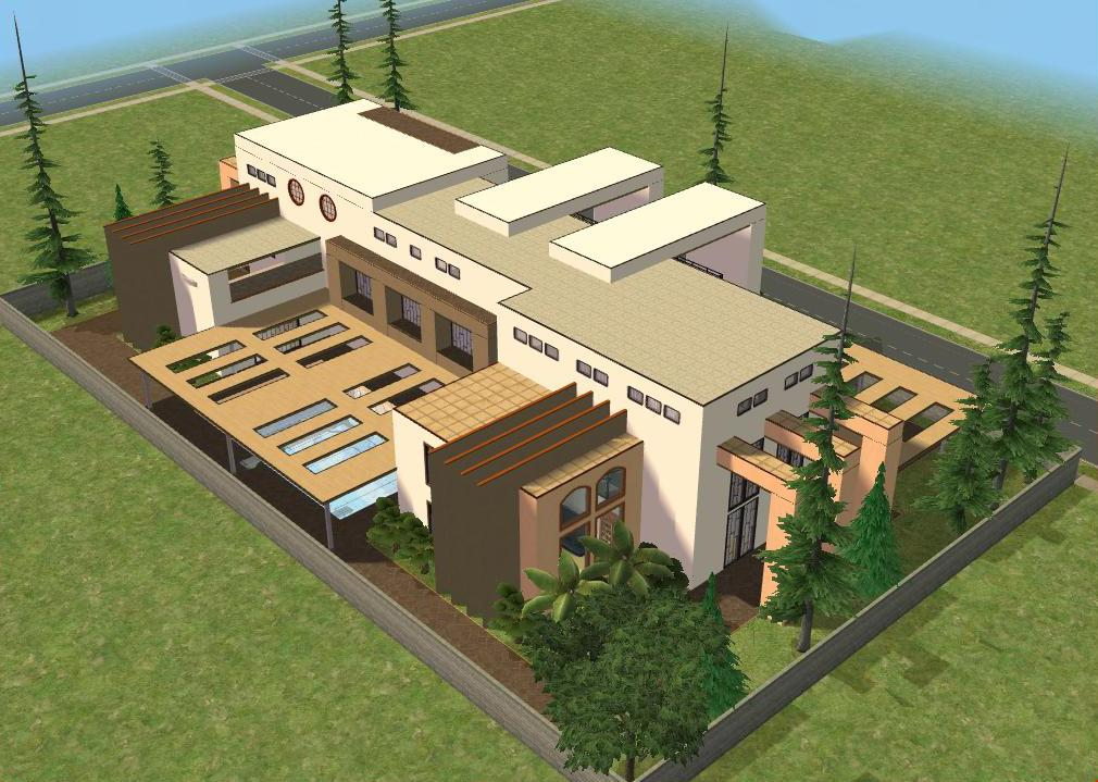 Sims 2 Modern House By RamboRocky On DeviantArt
