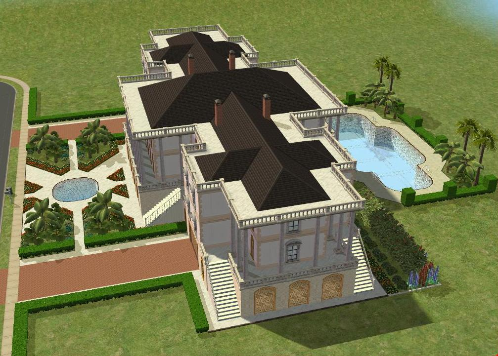 Sims 2 Mansion By Ramborocky On Deviantart