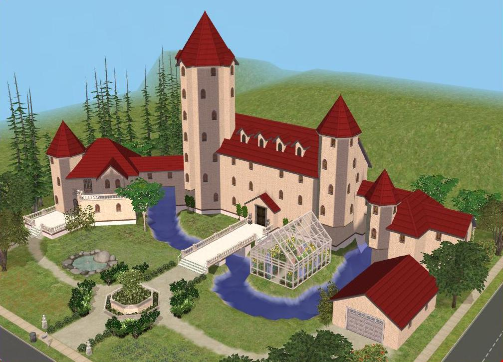 sims 2 japanese fortress - photo #16