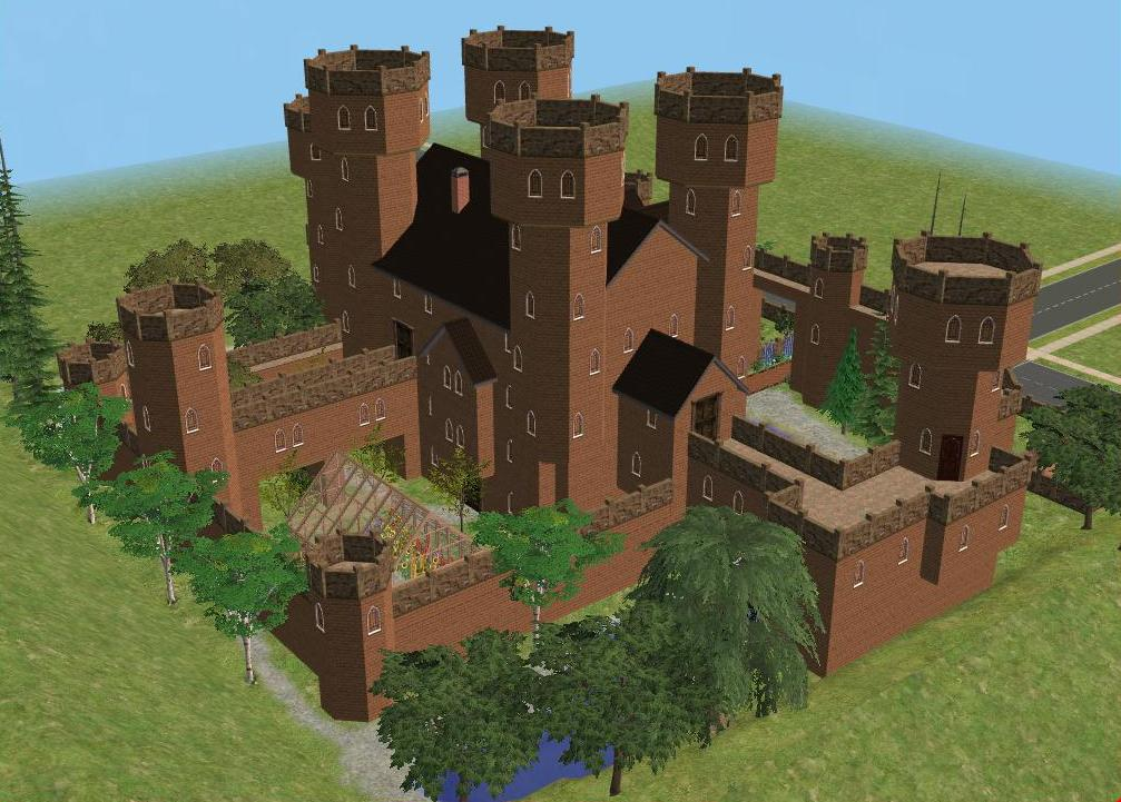 sims 2 japanese fortress - photo #18